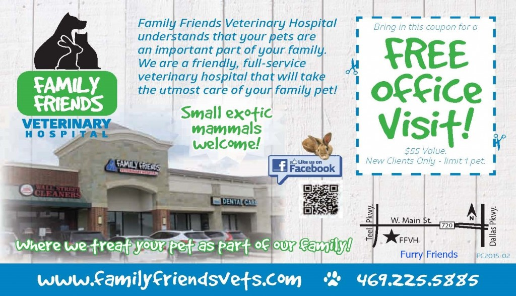 FFVH coupon - furry friends