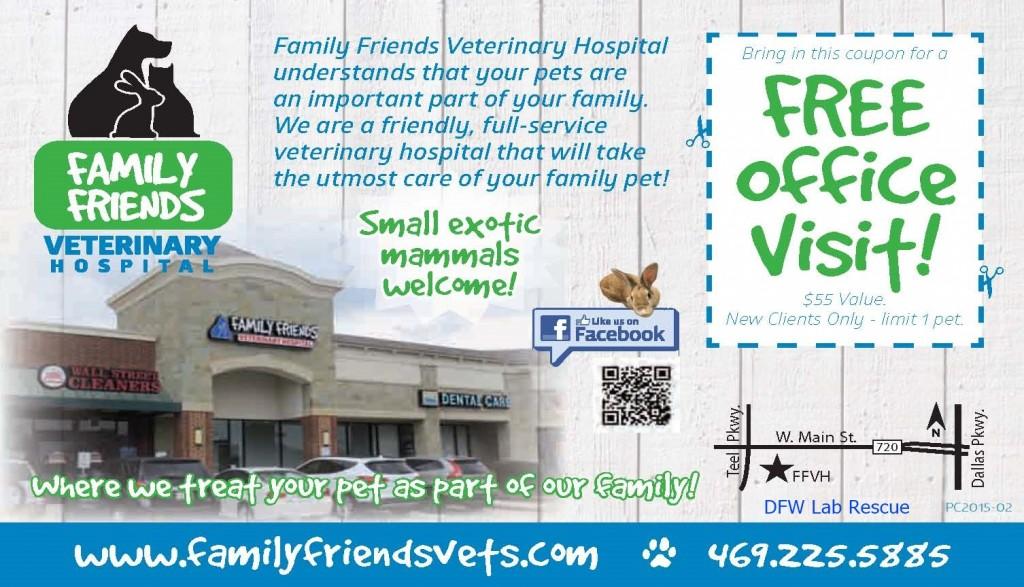 FFVH coupon - lab rescue